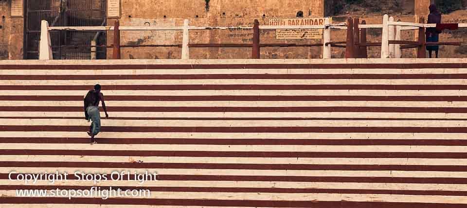Pattern, broken – Varanasi, India
